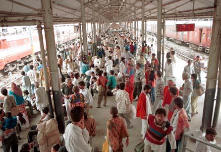 Old Delhi railway station