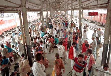 Old Delhi railway station