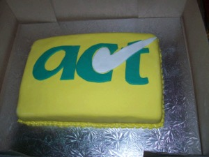 Natalie's ACT cake