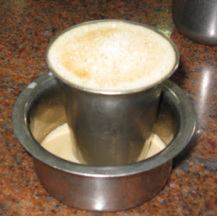 South-Indian coffee