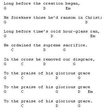 To The Praise Of His Glorious Grace Courage To Tremble